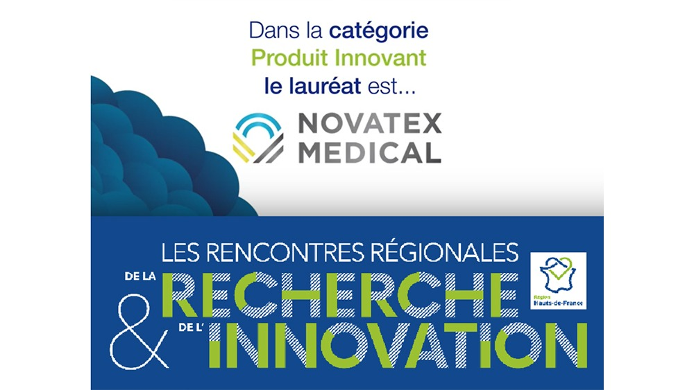 Novatex Medical, récompensé par un trophée de l'Innovation