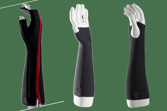 Fabriquée en France et développée pour l'Orthopédie Vlamynck et le Vésinet Orthopédie par le laboratoire Novatex Medical®, la gamme Novathane allie légèreté et confort