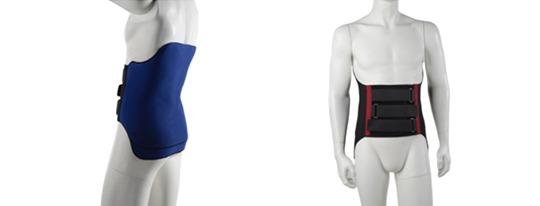 Nouveauté dans la prise en charge des pathologies du rachis : le corset en tissu et résine Novaspine.